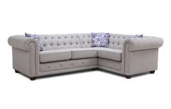 Left Hand Facing Arm 2 Seater Corner Sofa