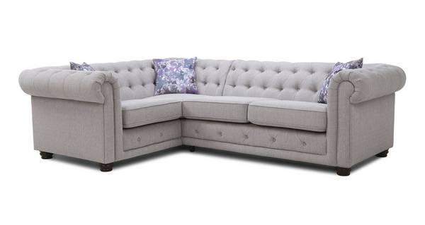 Thelma Right Hand Facing Arm 2 Seater Corner Sofa