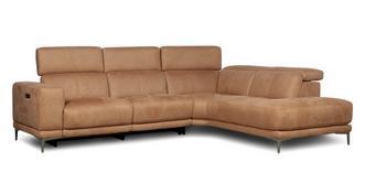 Tholen Linkszijdige 2-delige elektrische recliner hoek
