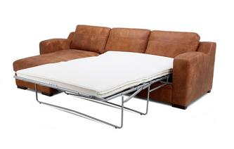 Left Hand Facing Chaise End Storage Deluxe Sofa Bed
