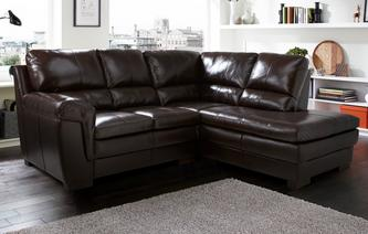 Thorpe Left Hand Facing Arm Corner Sofa Omega