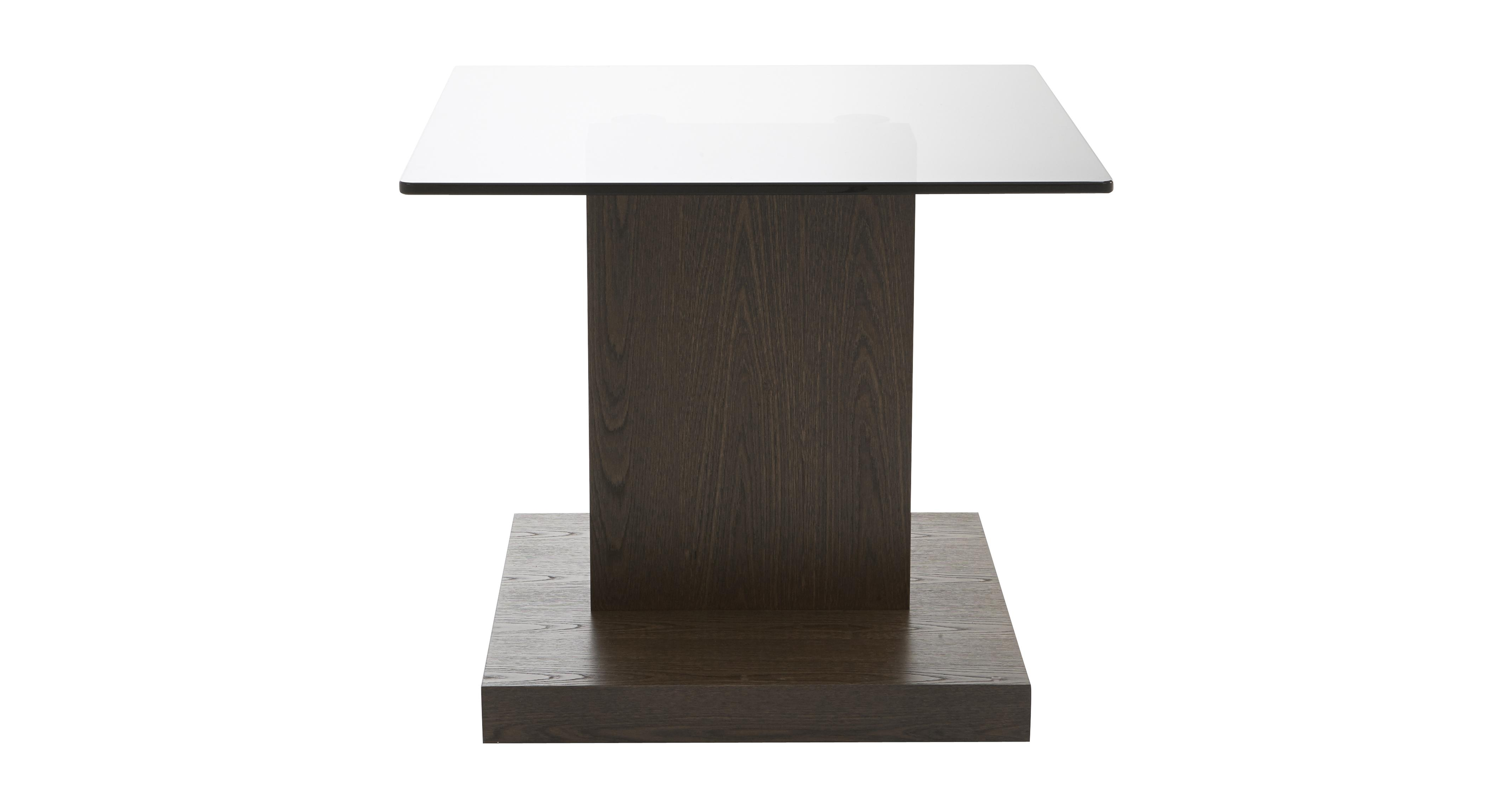 Tier lamp table tier dark elm dfs for Lamp table dfs