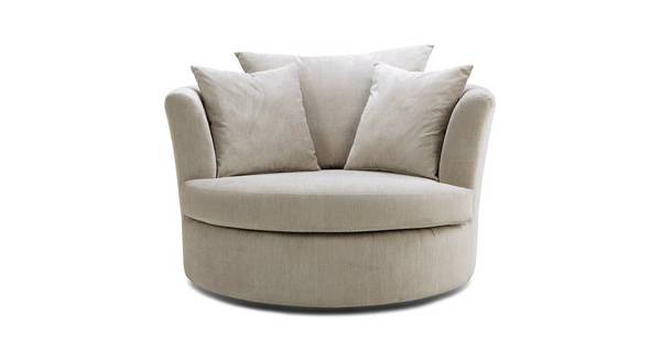 Tiki Large Swivel Chair