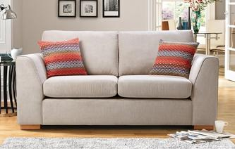 Tiki Large 2 Seater Deluxe Sofa Bed Sherbet