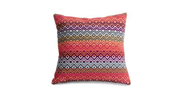 Tiki Pattern Scatter Cushion