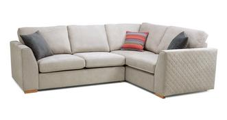 Tiki Left Hand Facing 2 Seater Corner Sofa