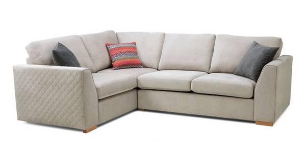 Tiki Right Hand Facing 2 Seater Corner Sofa