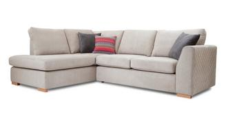 Tiki Right Hand Facing Arm Open End Corner Sofa