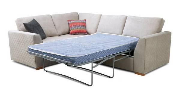 Tiki Right Hand Facing 2 Seater Deluxe Corner Sofa Bed