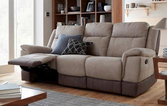 Tivolli 3 Seater Manual Recliner Arizona