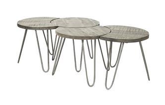 Set van 4 salontafels