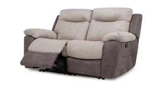 Tone 2 Seater Manual Recliner