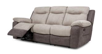 Tone 3 Seater Manual Recliner