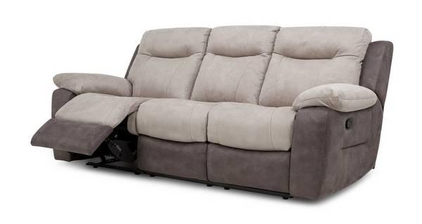 Tone 3-zitsbank handbediende recliner