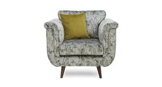 Topaz Pattern Standard Chair