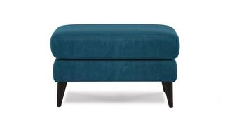Topaz Plain Rectangular Footstool