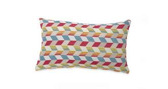 Topic Pattern Bolster Cushion