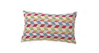 Topic Pattern Bolster Cushion