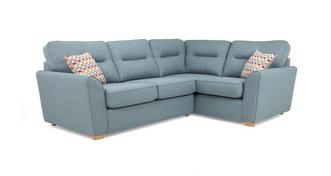 Topic Left Hand Facing 2 Seater Corner Sofabed