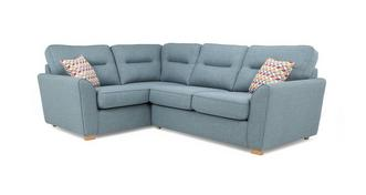 Topic Right Hand Facing 2 Seater Corner Sofabed