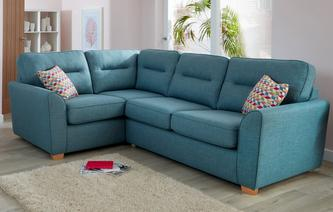 Topic Right Hand Facing 2 Seater Corner Sofabed Revive