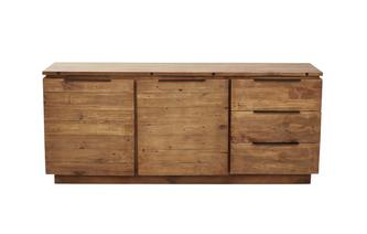 Large Sideboard with 2 Doors & 3 Drawers