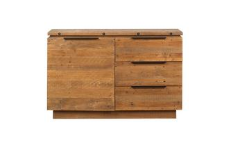 Small Sideboard with 1 Door & 3 Drawers