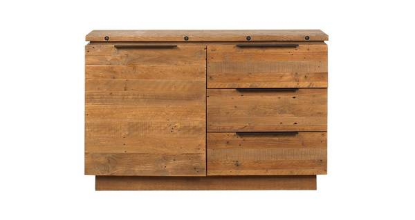 Toronto Small Sideboard with 1 Door & 3 Drawers