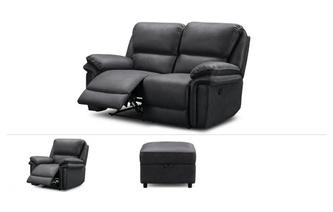2 Seater Recliner, Recliner Chair & Stool