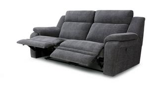 Toulon 3-zitter handbediende recliner