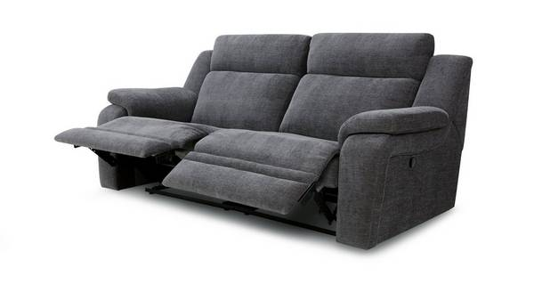 Toulon 3 Seater Manual Recliner