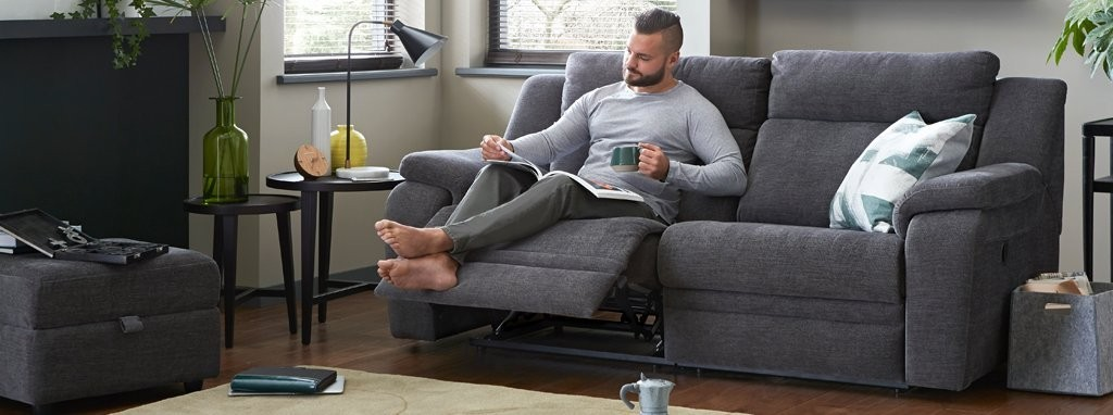 Exceptional Toulon 3 Seater Manual Recliner Provence | DFS