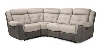 Toward Rechtszijdige 2-zits hoek 1-zit handbediende recliner