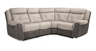 Toward Linkszijdige 2-zits hoek 1-zit handbediende recliner