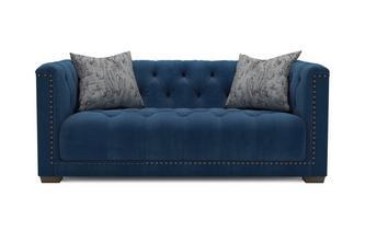 Velvet 3 Seater Sofa Trafalgar Velvet