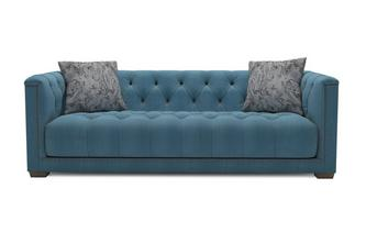 Velvet Grand Sofa Trafalgar Velvet