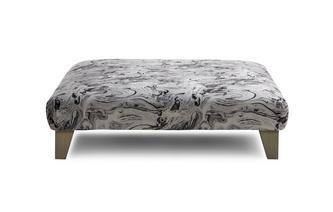 Large Footstool Trafalgar Marble