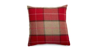 Tranquil Multi Check Scatter Cushion