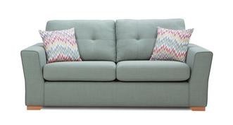 Trapeze 3 Seater Sofa Removable Arm