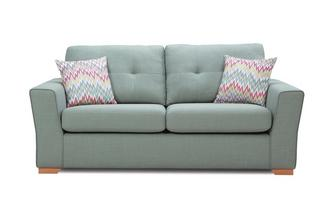 3 Seater Sofa Removable Arm Revive