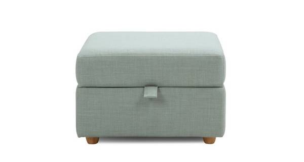 Trapeze Storage Footstool
