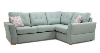 Trapeze Left Hand Facing 2 Seater Corner Sofa