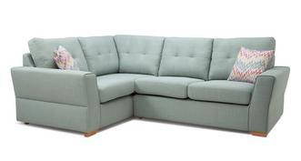 Trapeze Right Hand Facing 2 Seater Corner Sofa