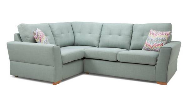 Trapeze Right Hand Facing 2 Seater Corner Sofa