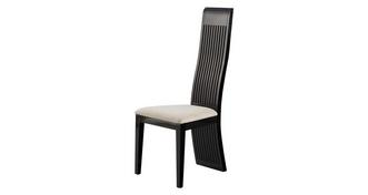 Trattoria Tulsa Dark Leg Chair