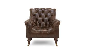 Accent fauteuil Treasury Leather