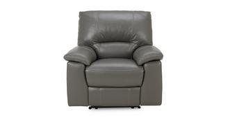 Trident Leder en lederlookElektrische recliner fauteuil