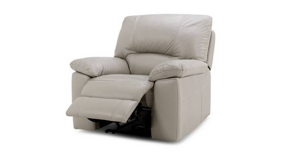 Trident Leather and Leather Look Electric Recliner Chair