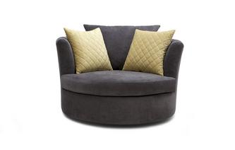 Large Swivel Chair Sherbet