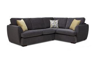 Left Hand Facing 2 Seater Corner Sofa Sherbet